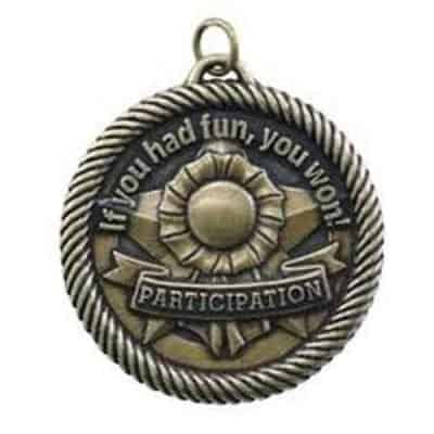 "2"" Participation Medal"