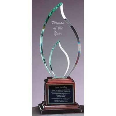 Double Flame Glass Award