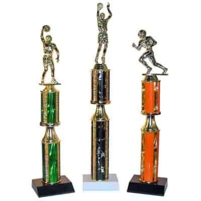 Stacked Round Column Trophy