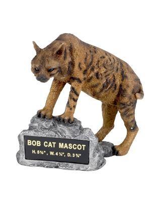 Bobcat Mascot Trophy