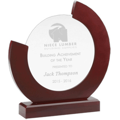 Crescent Wood and Glass Award