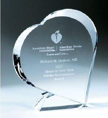 Giving Heart Crystal Award