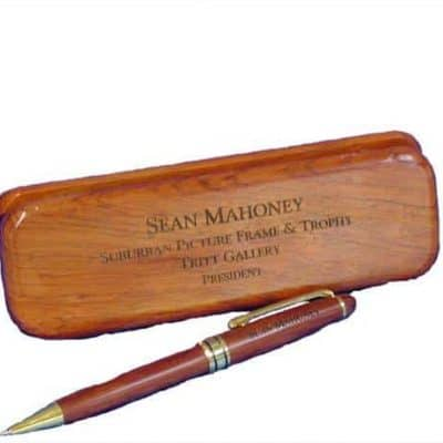 Rosewood Pen and Case