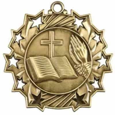 Ten Star Religious Medal