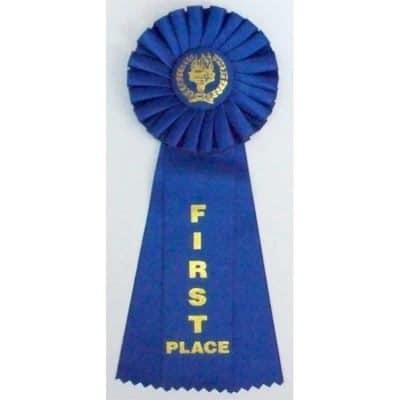 Rosette Award Ribbons