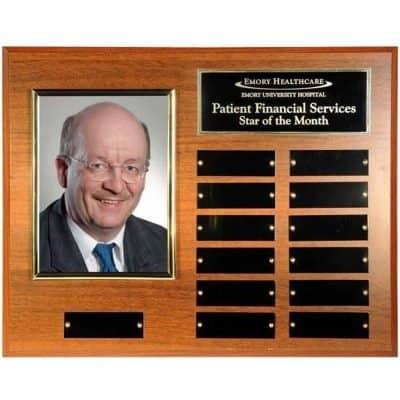 perpetual photo plaque