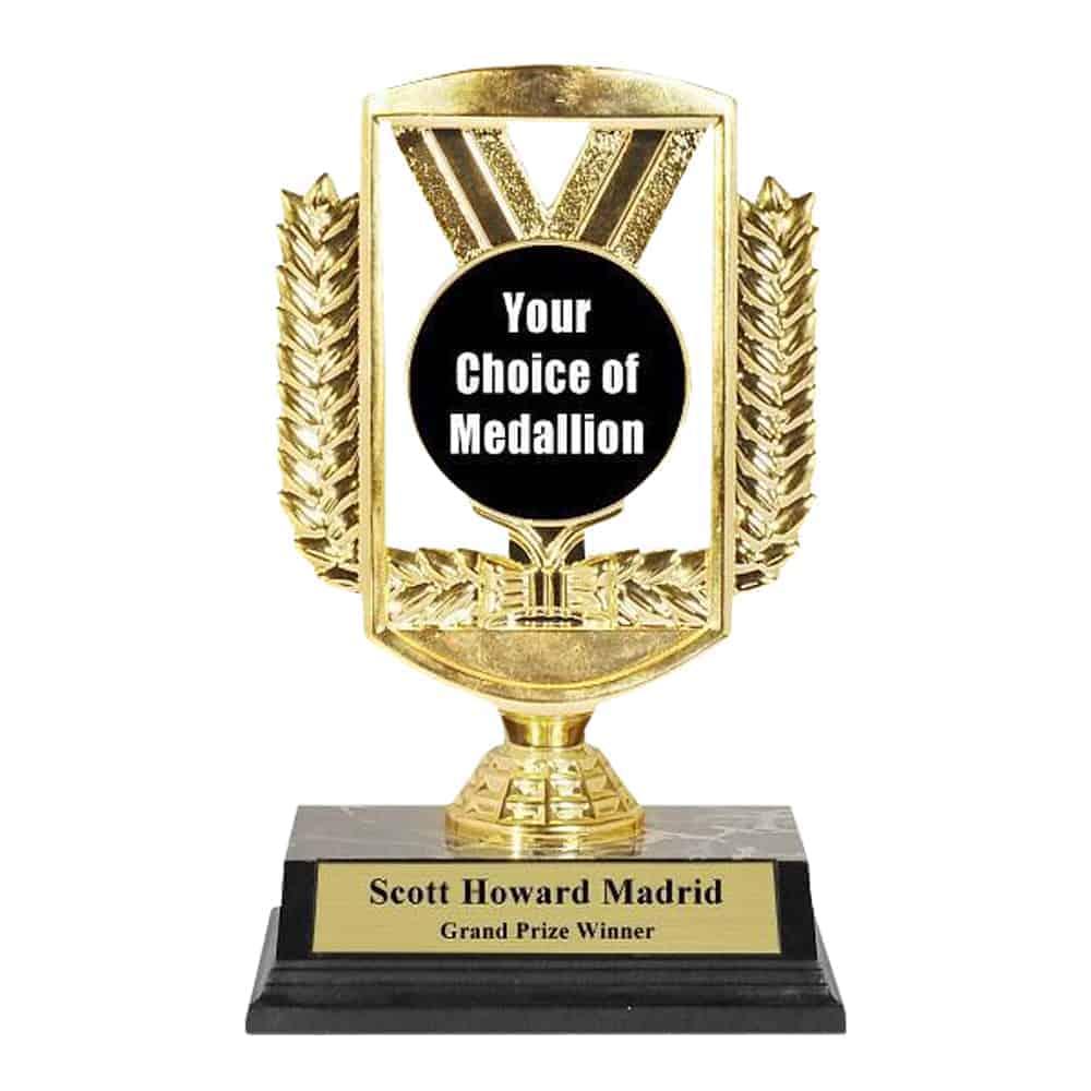 Ribbon Riser Trophy Suburban Custom Awards