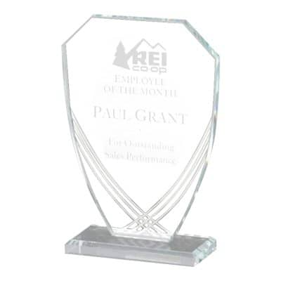 Contour Shield Glass Award