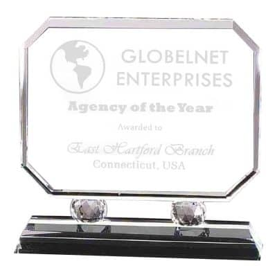 Elevated Rectangle Award CR160